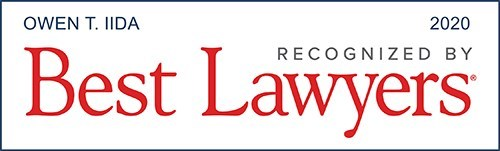 recognized by best lawyers of america